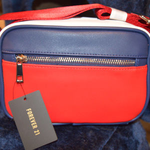 New - Forever 21 Red, White and Blue Purse
